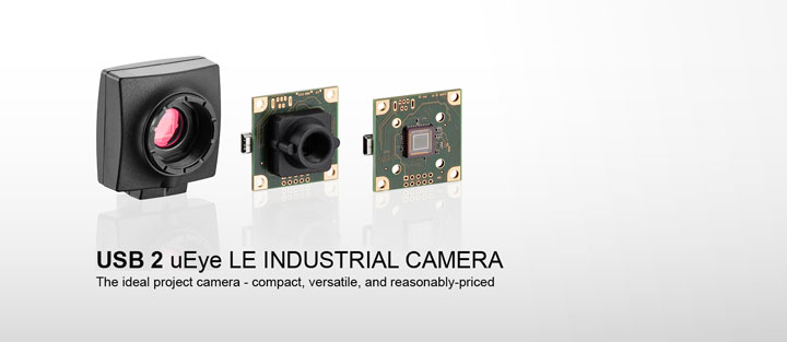 ---IDS industrial camera USB 2 uEye LE, single board CMOS camera with C/CS Mount or M12/M14 lens holder