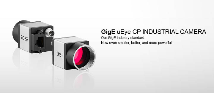 ---GigE uEye CP industrial camera - Our GigE industrial standard: now even smaller, more powerful, better