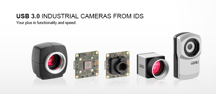 ---IDS USB 3.0 uEye industrial camera, CMOS camera, ultra fast, powerful, high frame rates, excellent image quality