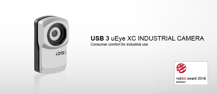 ---IDS industrial camera USB 3 uEye XC, autofocus, Full HD, UVC, 16x digital zoom, 13 megapixel, CMOS camera, face detection